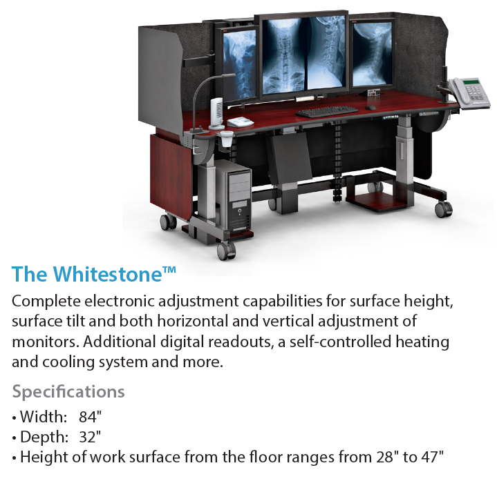 AFC Industries The Whitestone Radiology Furniture