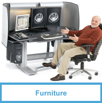 PACS Accessories - Radiology Furniture
